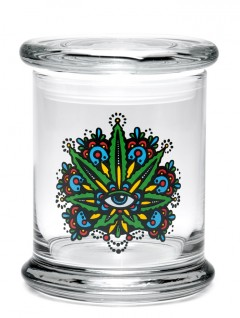 Buy 420 Science Classic Stash Jar - Leaf Eye