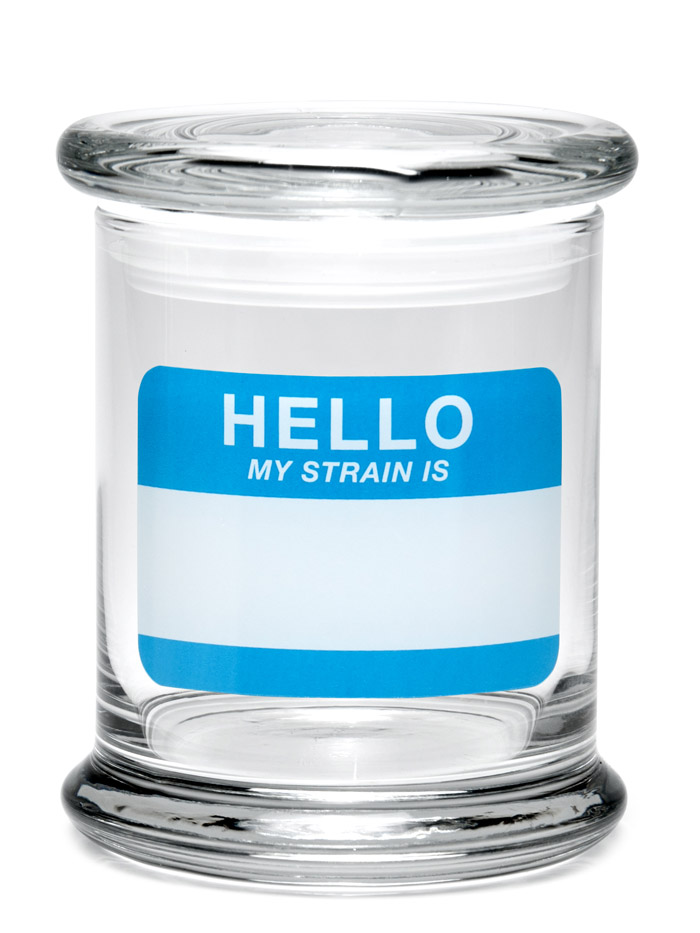 Buy 420 Science Classic Stash Jar - Hello Write Erase