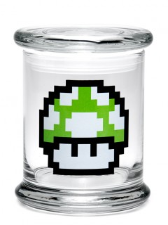 Buy 420 Science Classic Stash Jar - 1up Mushroom