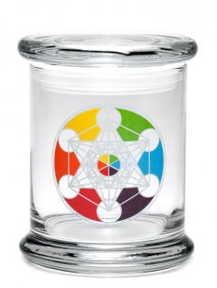 Buy 420 Science Classic Stash Jar - Metatron's Cube