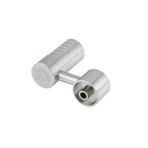 Buy Titan Titanium Nails - Domeless Side Arm - Female 14/18mm