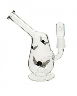 Buy Sheldon Black Egg Oil Bubbler - Flying Hats