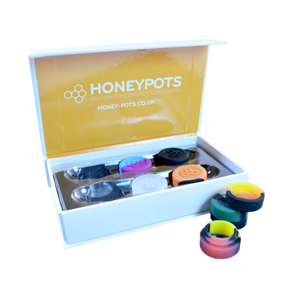 Buy HoneyWorks Silicone HoneyPots (Small x6)