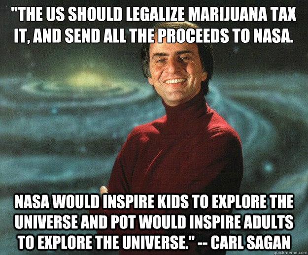 Carl Sagan- Spend Tax Money On Exploring The Universe