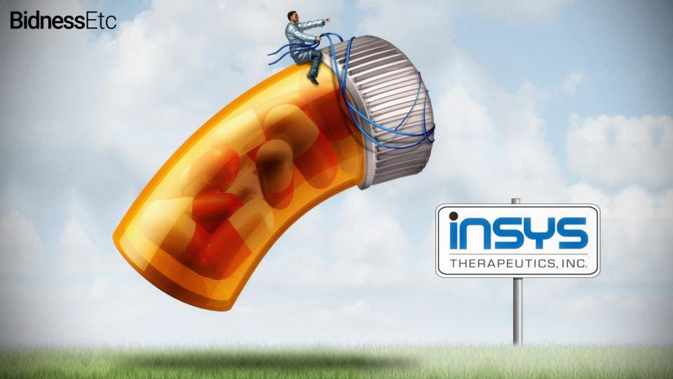 Insys Therapeutics are the biggest backers of the no campaign