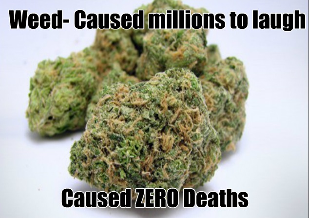 Caution Weed Causes Laughter