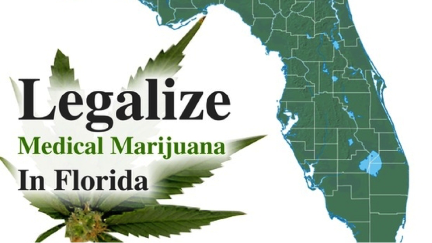 Legalize medical marijuana Florida poster