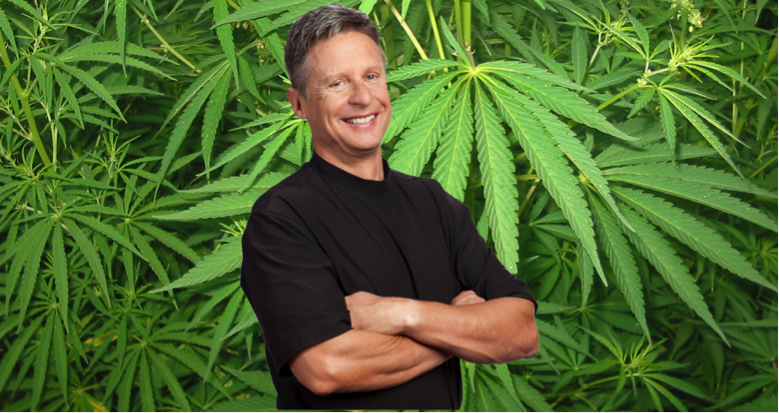 Gary Johnson on Cannabis
