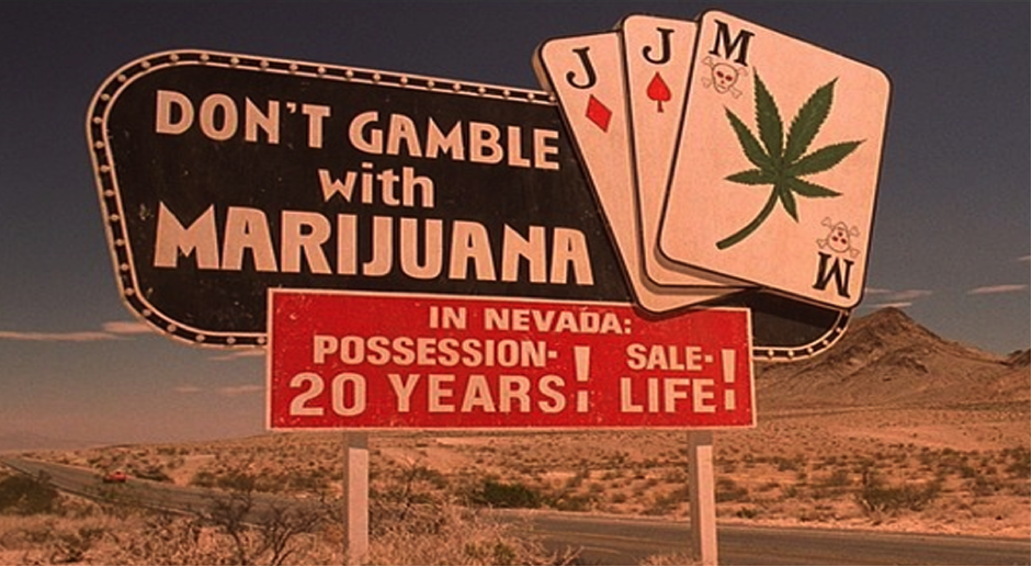 Nevada don't gamble with marijuana