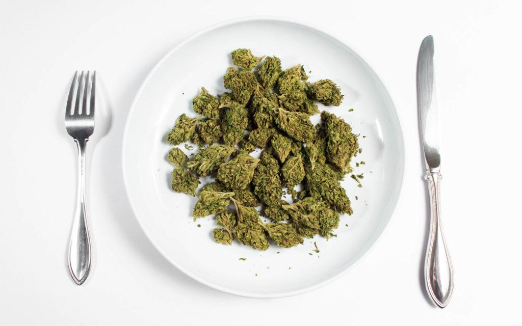Cannabis Plate