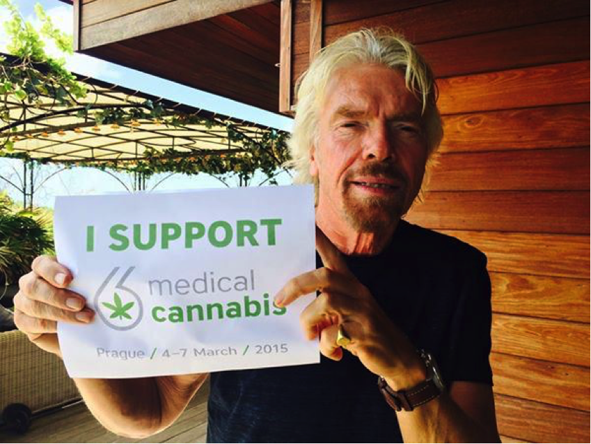 Richard Branson Medical Cannabis