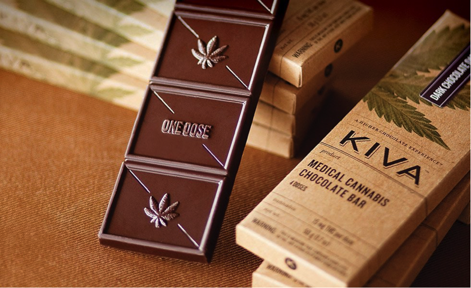 Kiva chocolate edibles