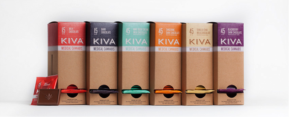 Kiva edibles selection