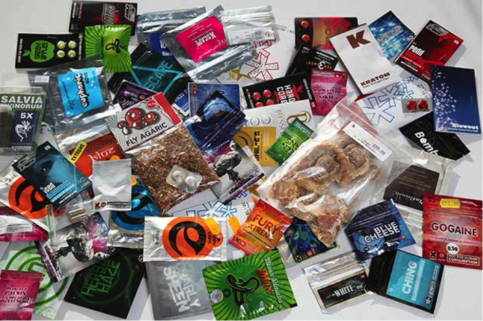 Large range of legal highs on the shelves in the UK