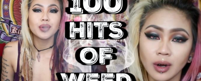 100 Hits of weed with Kimmy Tan