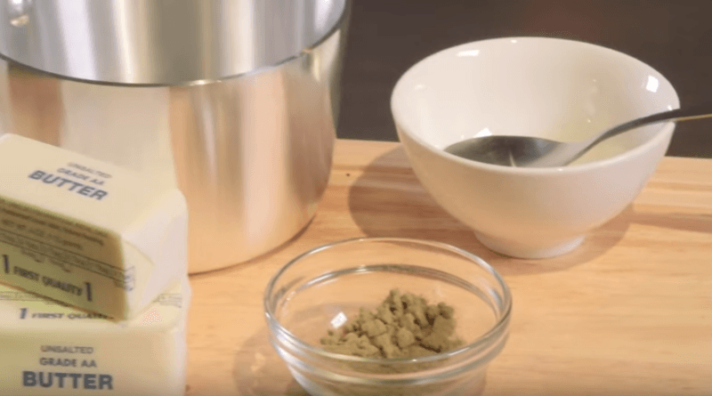 Make your own Kief infused butter