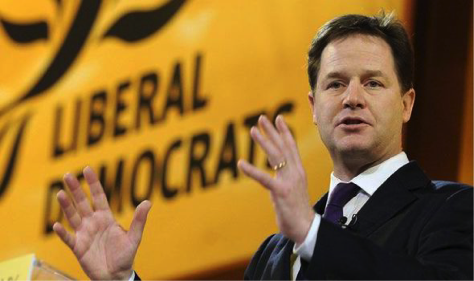 Nick Clegg calls for legalization