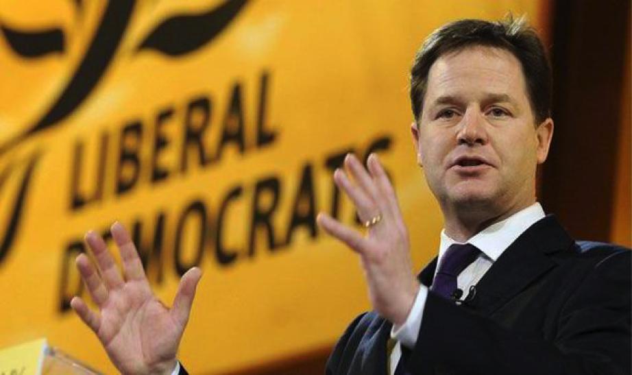 Nick Clegg calls for legalization