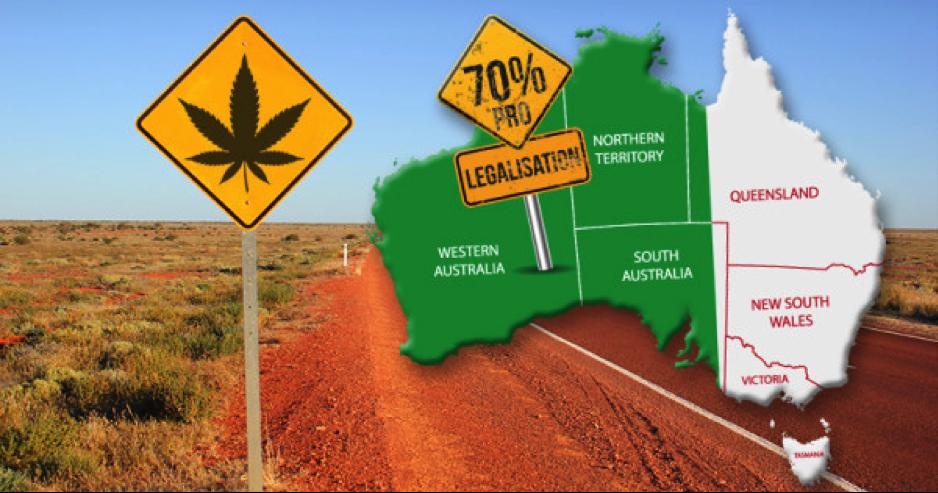 Australia infoghraphic cannabis legalization