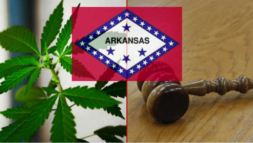 Arkansas legalized cannabis in 2016