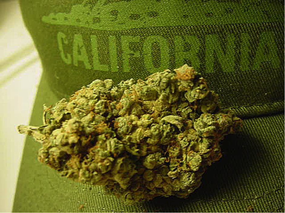 California cannabis trade