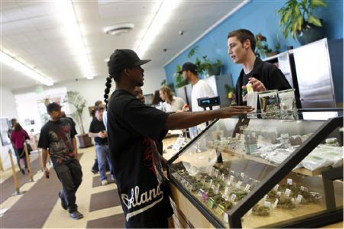 Oakland takes cannabis licences from non residents