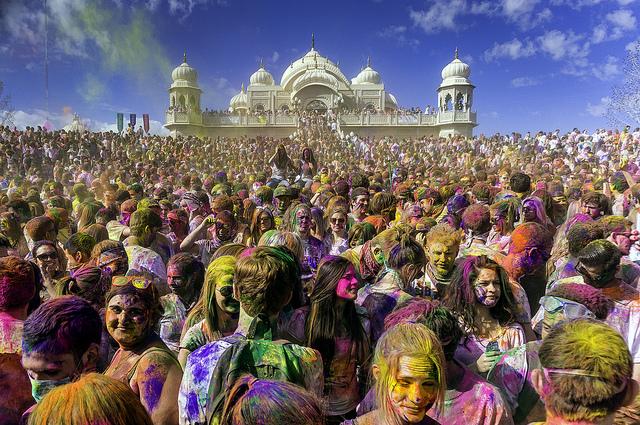 Holi Festival India Photo by Steven Gerner