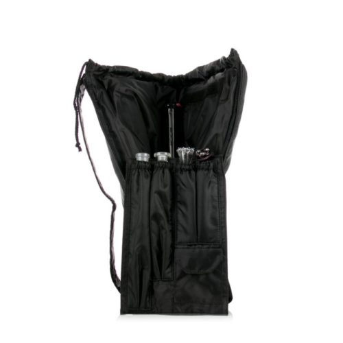 Buy Sativa Nylon Black Bong Bag Inside