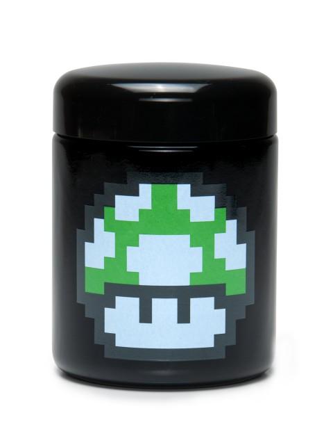 Buy 420 Science UV Stash Jar 1up Mushroom Large