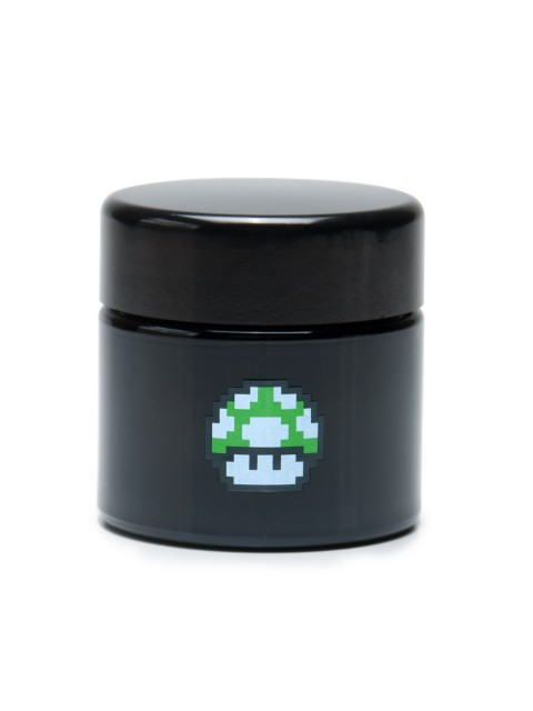 Buy 420 Science UV Stash Jar 1up Mushroom Medium