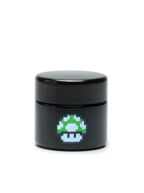 Buy 420 Science UV Stash Jar 1up Mushroom Small