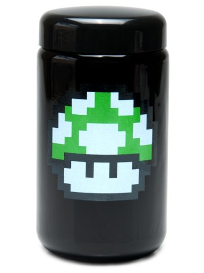 Buy 420 Science UV Stash Jar 1up Mushroom X-Large