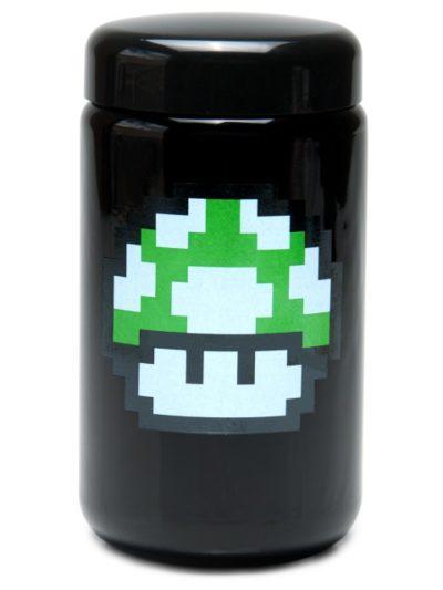 Buy 420 Science UV Stash Jar 1up Mushroom X-Large