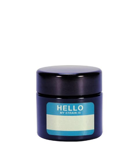 Buy 420 Science UV Stash Jar Hello My Strain Is Small