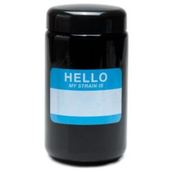 Buy 420 Science UV Stash Jar Hello My Strain Is X-Large