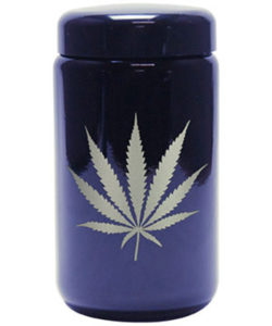 Buy 420 Science UV Stash Jar Silver Leaf