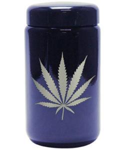 Buy 420 Science UV Stash Jar Silver Leaf