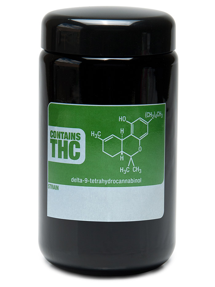 Buy 420 Science UV Stash Jar THC Write and Erase X-Large