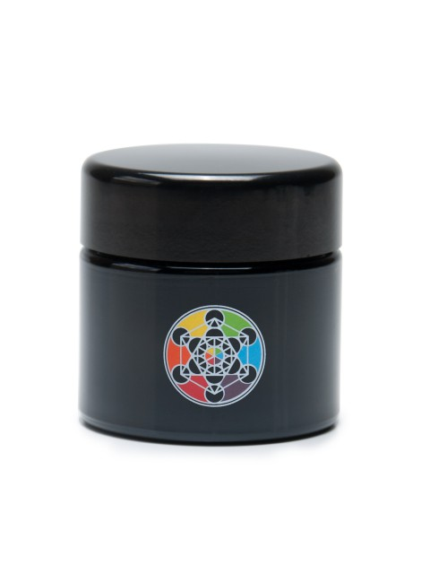 Buy 420 UV Stash Jar Metatron's Cube Medium