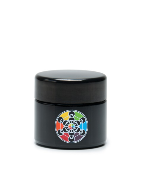Buy 420 UV Stash Jar Metatron's Cube Small