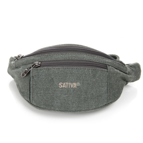 Buy Sativa Hemp Bum Bag Grey
