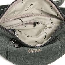 Buy Sativa Hemp Bum Bag Inside