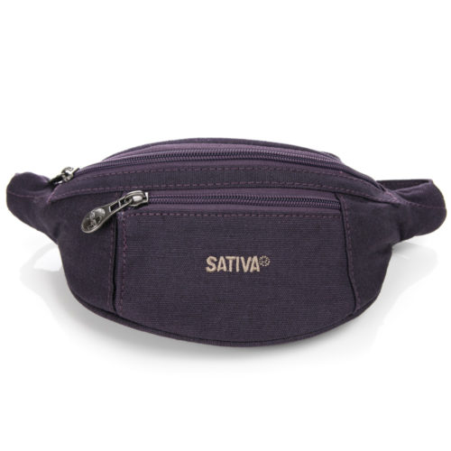 Buy Sativa Hemp Bum Bag Plum