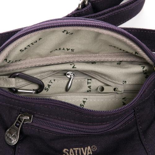 Buy Sativa Hemp Bum Bag Plum