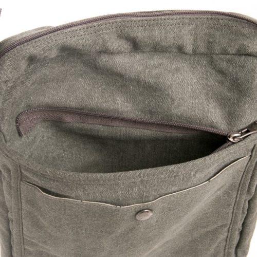 Buy Sativa Hemp Large A4 Shoulder Bag Flap