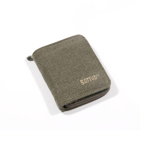 Buy Sativa hemp Wallet Khaki