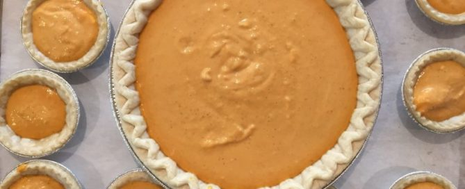 Cannabis Medicated Pumpkin Pie